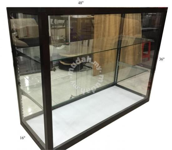 Aluminium Glass Display Cabinets 48 36, Glass Display Cabinet Malaysia