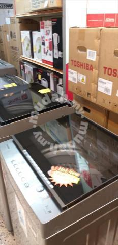 TOSHIBA AW-J800AMSG 7kg Mesin Basuh BARU