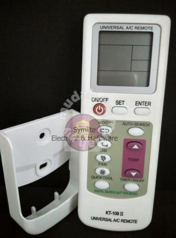 Qunda KT-109 II Universal A/C Remote C/W Bracket - Home Appliances &  Kitchen for sale in Puchong, Selangor