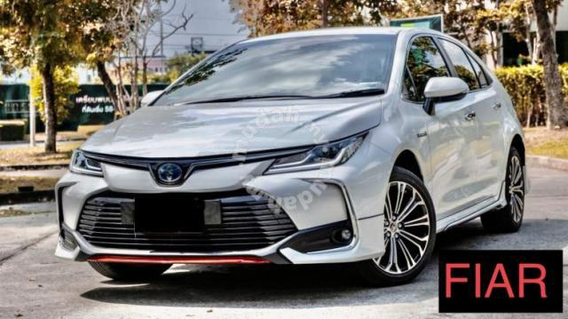 Toyota altis 20-21 FIAR bodykit body kit spoiler