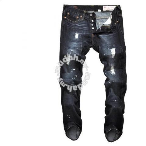 74a59d8fa997 EVISU Edison patch holes straight jeans pants - Clothes for sale in ...