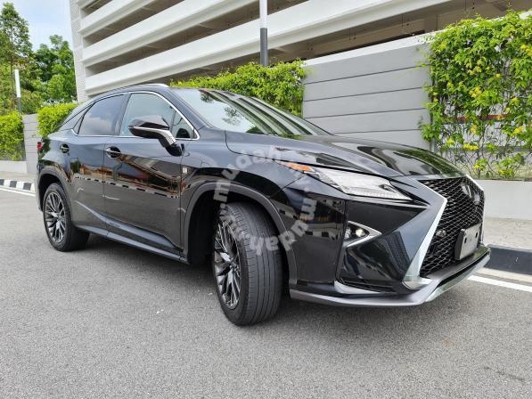 2017 Lexus RX200 2.0 F SPORT (A)