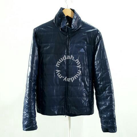 golf Señal Accidental  Adidas Nylon Dark Blue Jacket - Clothes for sale in Johor Bahru, Johor