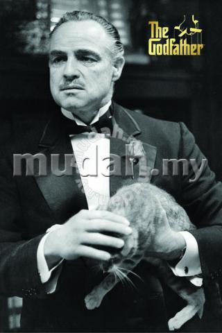 Poster godfather don corleone with cat hobby collectibles for poster godfather don corleone with cat hobby collectibles for sale in cheras kuala lumpur thecheapjerseys Choice Image