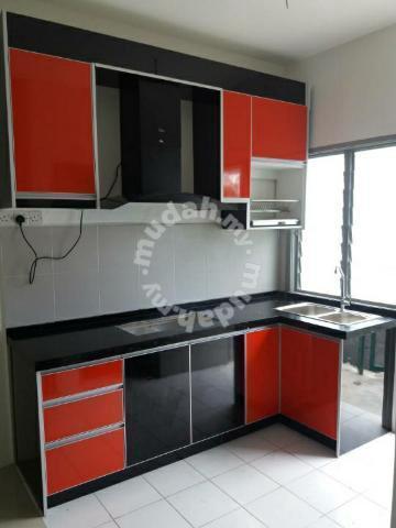 Kabinet Dapur High Gloss Fomica Murah Kapar Klang Home Liances Kitchen For In Selangor