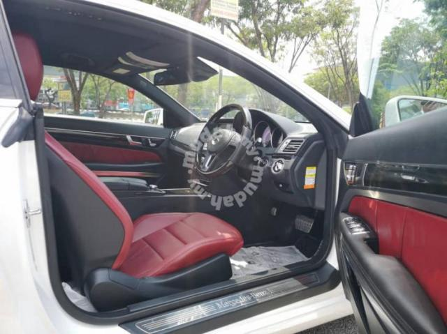 360cam Red Interior Coupe Mercedes Benz E250 Amg Cars For Sale In Cheras Kuala Lumpur