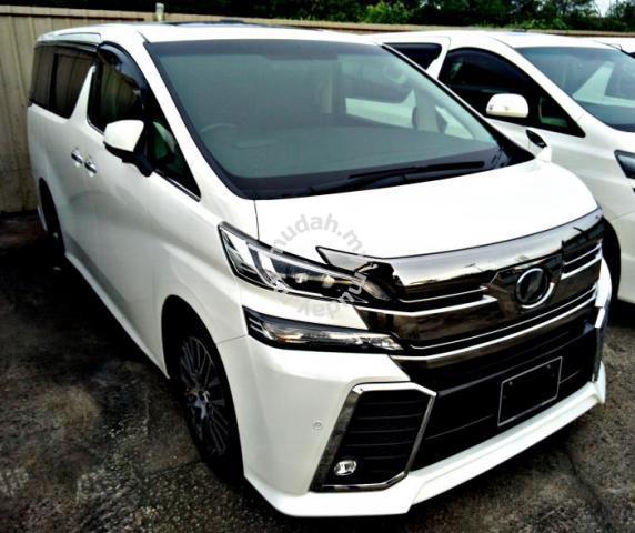 2015 Toyota VELLFIRE 2.5 Z G-EDITION (A) 300 UNITS