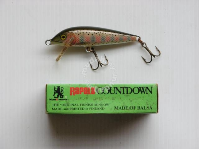 Rapala Count Down CD7 RT Fishing Lure - Sports & Outdoors for sale in  Puchong, Selangor