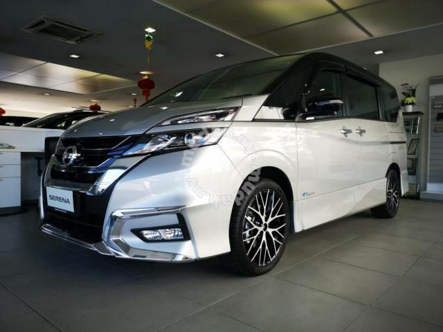 2021 nissan serena last stock - cars for sale in ipoh