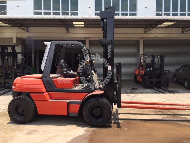 Japan Direct Import TOYOTA Forklift 6 7 Ton Diesel - Commercial Vehicle &  Boats for sale in Seremban, Negeri Sembilan