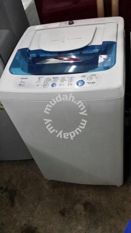 0d7fc6a872421a Washer Refurbish Recond Auto Mesin Basuh Toshiba - Home ...