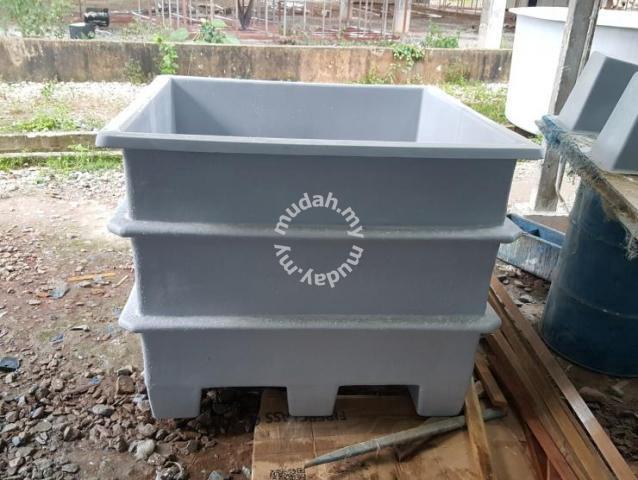 Custom-made Fiberglass Aquaculture Tank - Pets for sale in Others, Johor