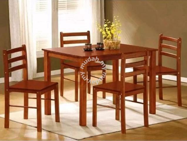 Dining Set 4 Seater Meja Makan