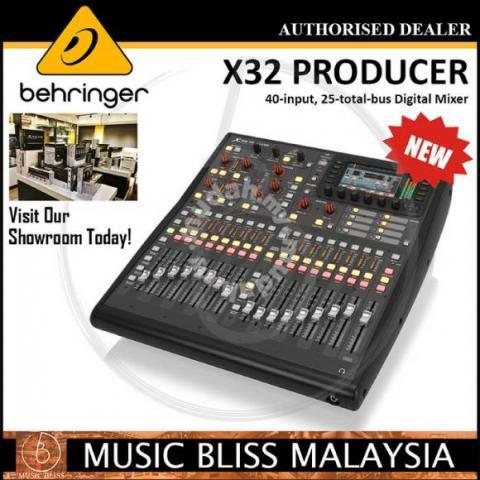 Behringer X32 Producer Mixer *Crazy Sales - Music Instruments for sale in  Old Klang Road, Kuala Lumpur