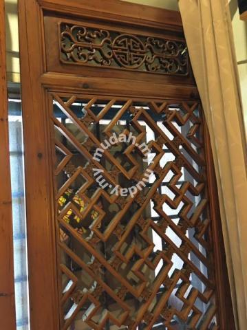 on antique wooden door for sale