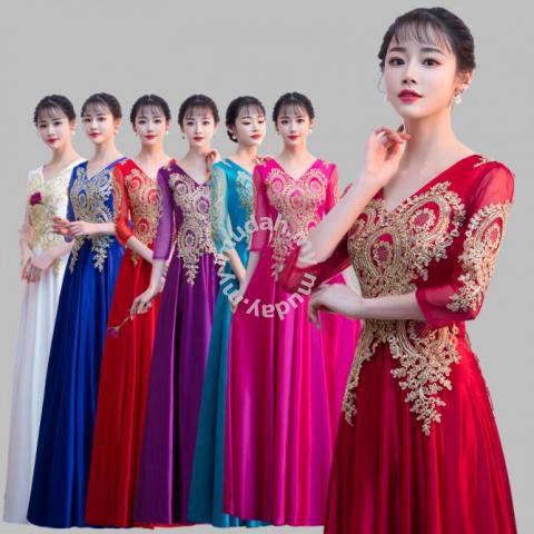 Red Pink Wedding Dresses