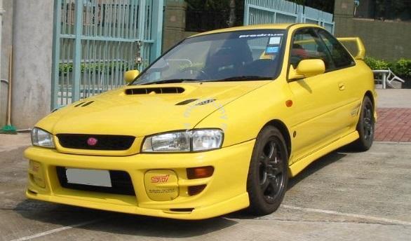 Wrx Performance Parts >> Subaru Impreza GC8 Sti front V lip bodykit - Car ...