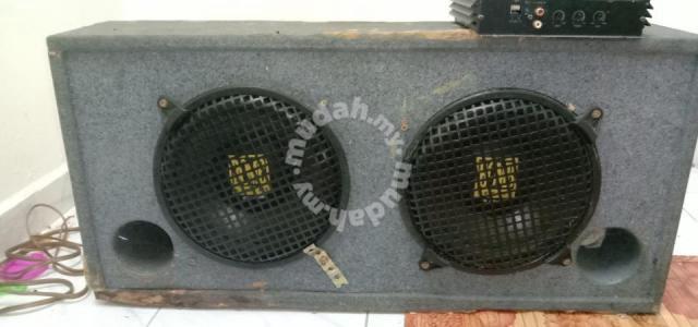 Woofer+amplifier