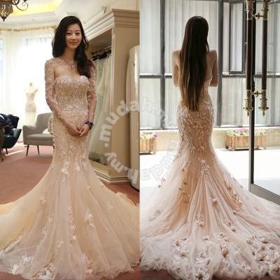 White cream wedding bridal prom dress gown RB027 - Wedding for sale ...