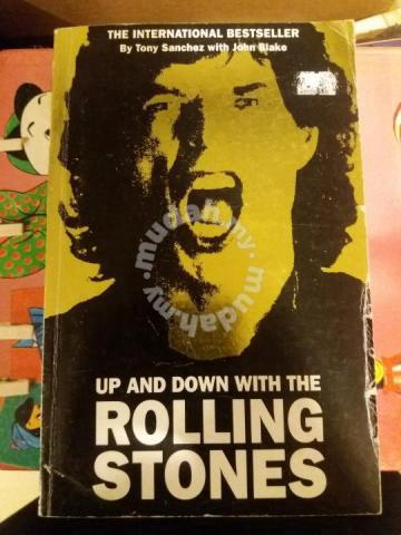 The Rolling stones book story up and down - Hobby & Collectibles for sale  in Penaga, Penang