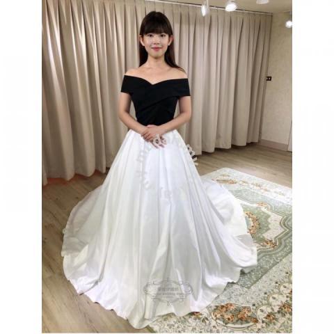 e2b2651174 Black white fishtail wedding dress prom RB0890 - Wedding for sale in ...