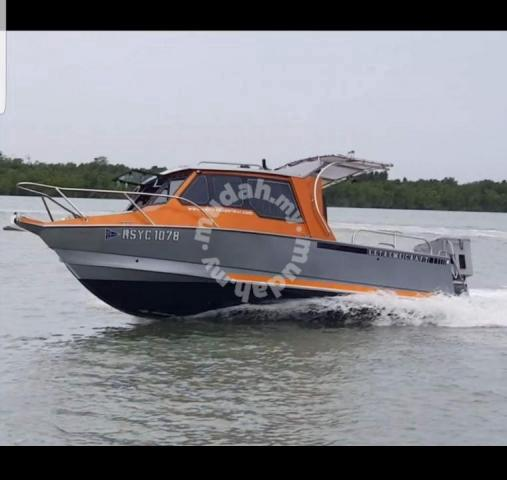 Power Boat Aircond Commercial Vehicle Boats For Sale In Port Klang Selangor Mudah My