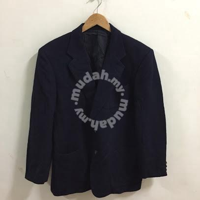 f29daecc962ef Vintage Burberry Coat Jacket Blazer Size L blue - Clothes for sale in ...
