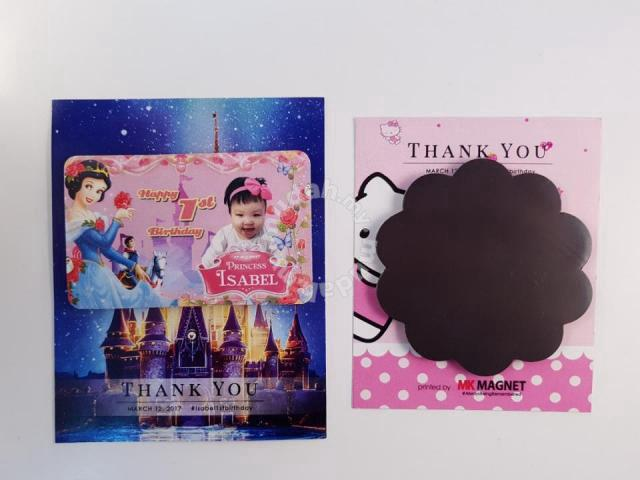 Fridge Magnet With Thank You Card Packing Wedding For Sale In