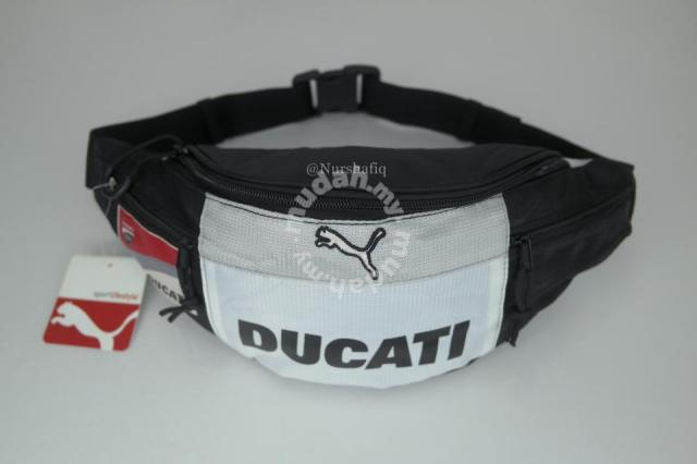 56ff94f34f65 Puma ducati pouch waist bag (black white) - Bags   Wallets for sale in Shah  Alam