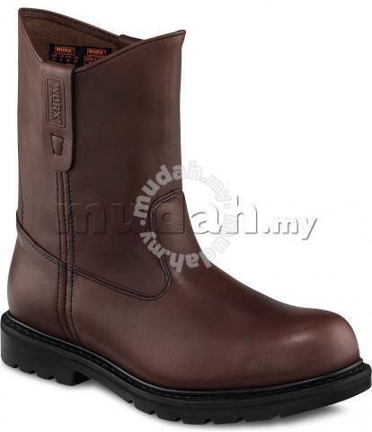 Safety Shoes Worx Red Wing Men High 9In