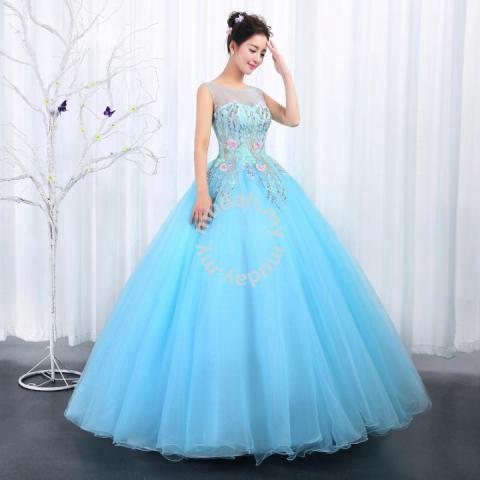 9ee6c02b42 Pink blue prom wedding bridal gown dress RB0452 - Wedding for sale in Johor  Bahru