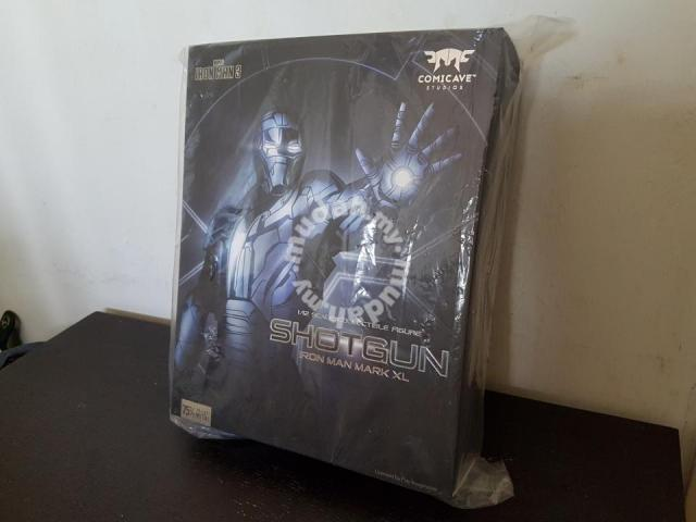 Comicave 1/12 Iron Man Mark XL (40) Shortgun MISB - Hobby & Collectibles  for sale in Bayan Lepas, Penang