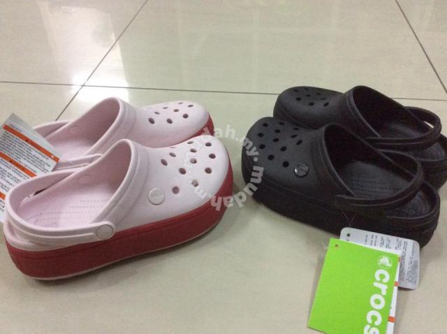 ff84748a705c6 Original Crocs Crocband Platform Clog - Shoes for sale in Setiawangsa