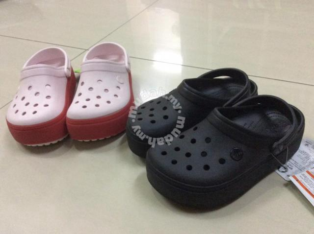 4cbb6f2726d Original Crocs Crocband Platform Clog - Shoes for sale in Setiawangsa