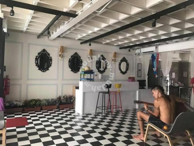 (best deal kk city) hostel 3storey with rooftop for sale