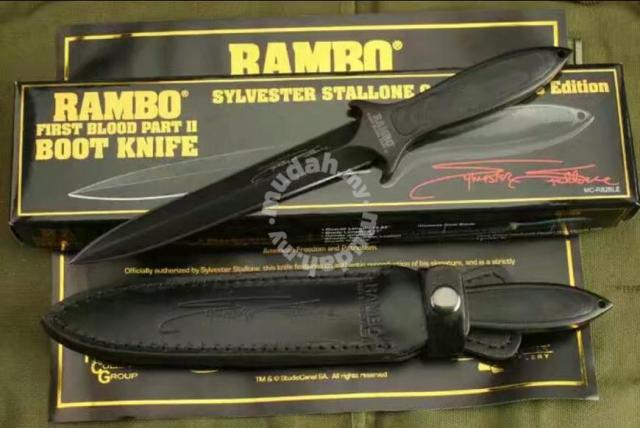 Knife - Military tactical knife - Rambo 5 - Sports & Outdoors for sale in  Jelutong, Penang