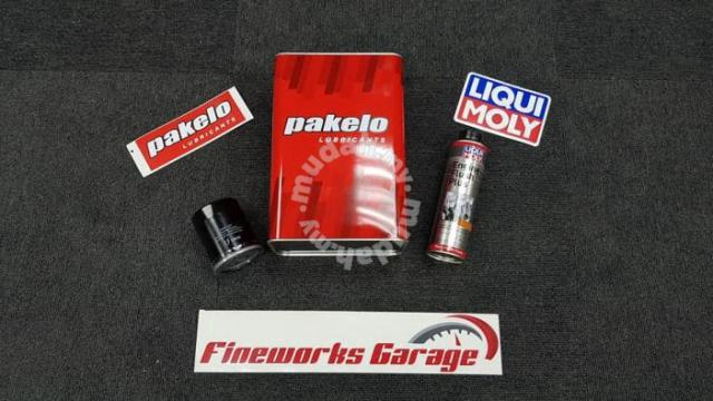 Pakelo 10w30 and liqui moly service package