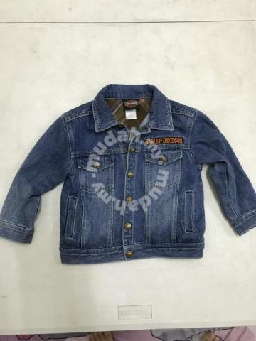 11f94914a3c8 Harley Davidson Denim Jacket - Kids - Clothes for sale in Batu Gajah ...