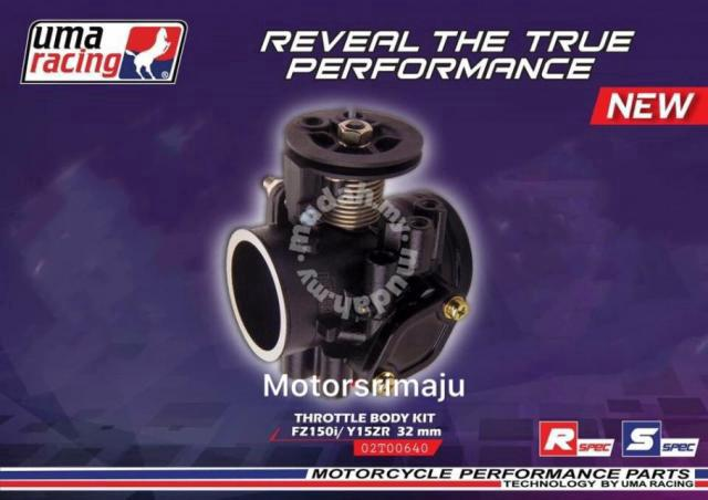 Uma Racing Throttle Body 32-34mm y15zr/ fz new - Motorcycle Accessories &  Parts for sale in Pekan Nanas, Johor