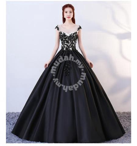 36231bf708592 Black white ball wedding prom dress gown RB0738 - Wedding for sale ...