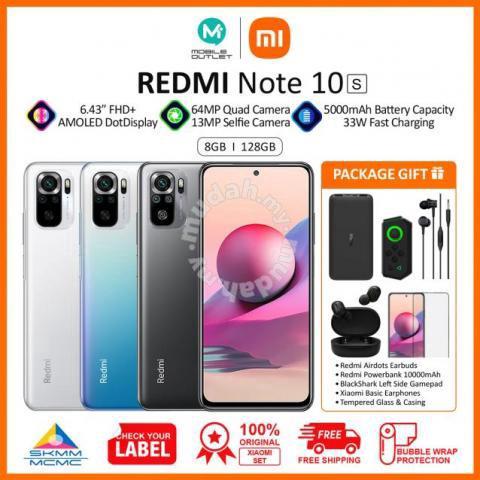 Redmi Note 10s 8GB/128GB (Original Xiaomi Msia)