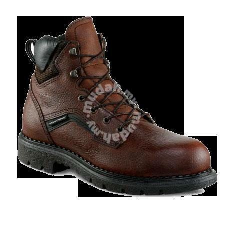 Safety Shoes Red Wing Men 6Inch Brown