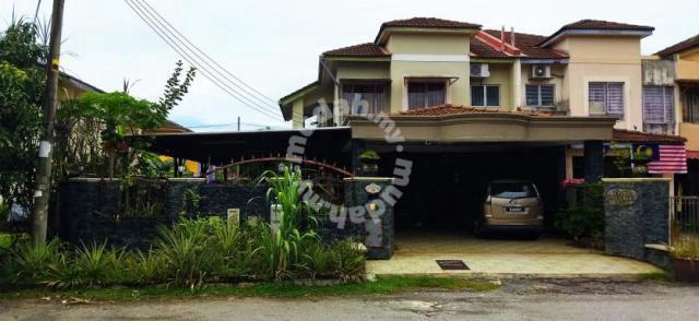 Fully extended corner lot 2 storey house, bandar tasik puteri, rawang
