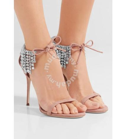 Black nude pink diamond high heels RBH0189 - Shoes for sale in ...