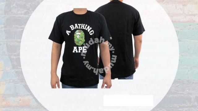 6db65bf66 T-shirt Men Unisex Women Fitted (Bape) - Clothes for sale in Setapak ...
