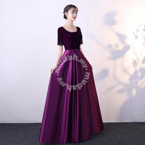 Purple Red Pink Blue Prom Dress Rbbd0088 Clothes For Sale In Johor