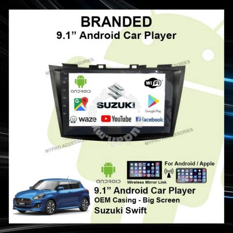 SUZUKI SWIFT 2011-2017 android usb mp5 player - Car Accessories & Parts for  sale in Shah Alam, Selangor