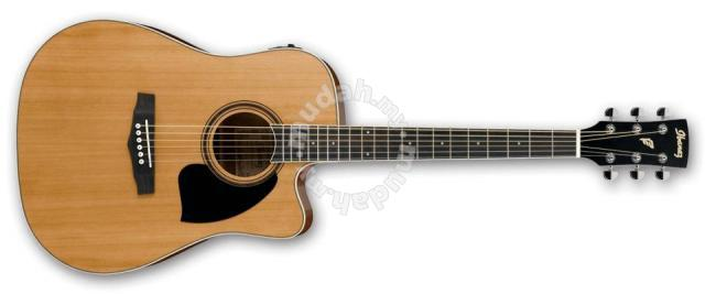 Ibanez Pf17ece Acoustic Guitar With Pickup Music Instruments For