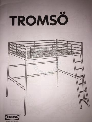 Ikea Troms Loftsng. Loft Bed Full Loft Bed Frame Home Design Ideas ...