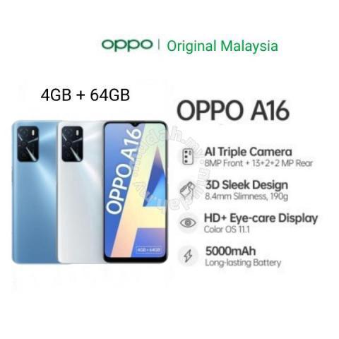 Oppo a16 2021 (4gb/64gb)